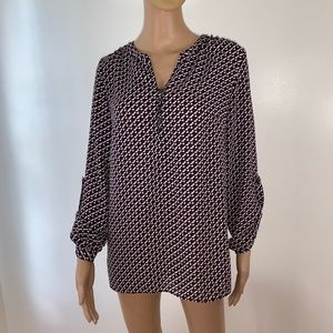 LAUNDRY BY SHELLI SEGAL BLOUSE SIZE S